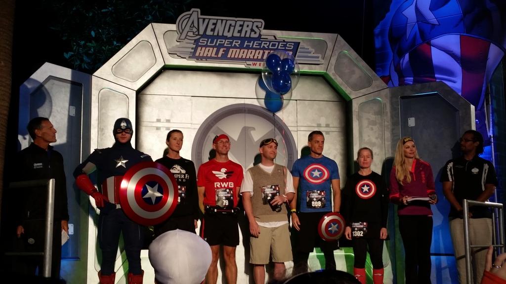 Avengers Half Marathon 2014 20141116_050452