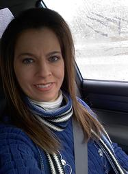 Paula Varble in car